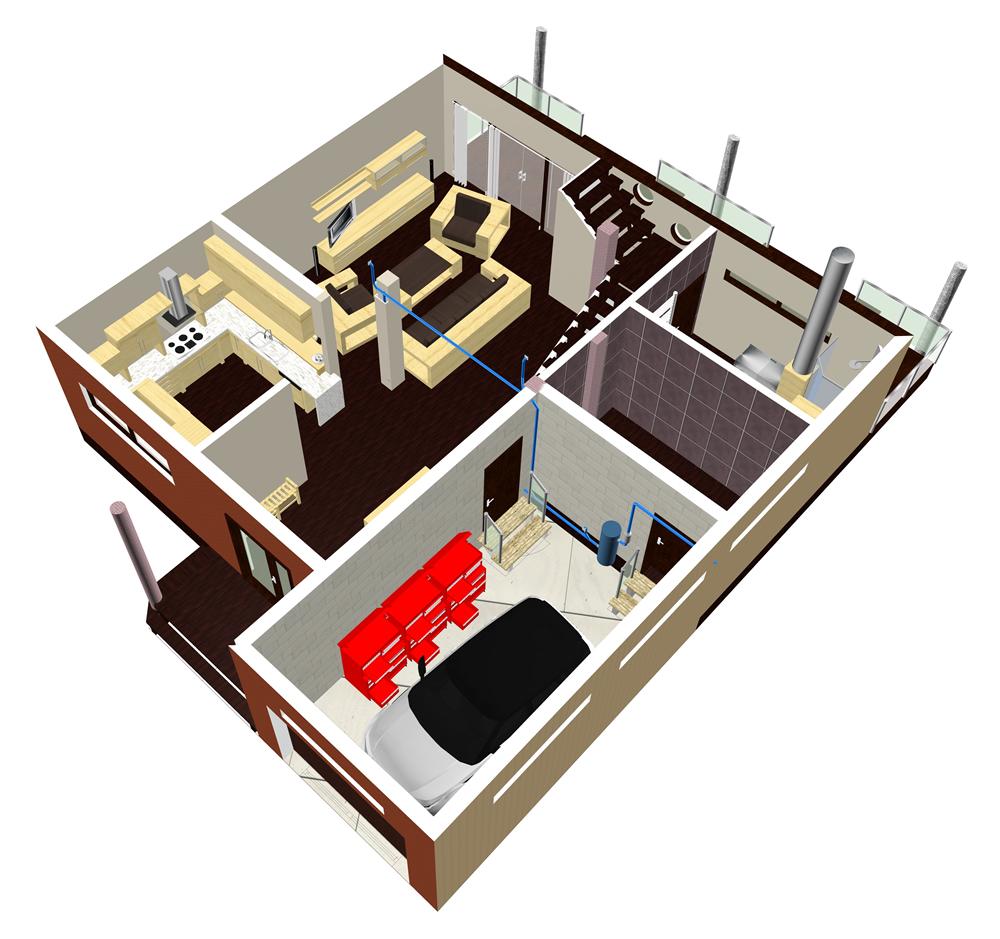 Proiect Aspirator Central Casa
